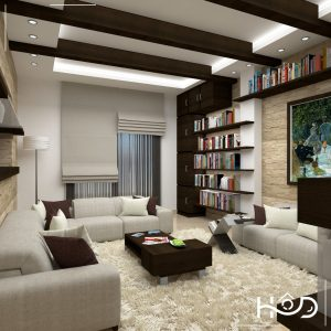 The Concept Of This Area Is Combined Between Modern Rustic Style It Specially Designed For A Book Lover As You Can See How Library Section